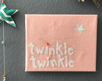 twinkle twinkle applique art