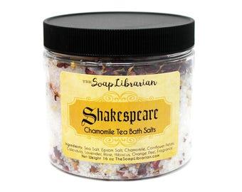 Shakespeare Bath Salts - Chamomile Tea