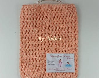 Corset for the stretchy crochet tutu dress, salmon color, size 9-11 years, ceremony tutus, Carnival, holiday