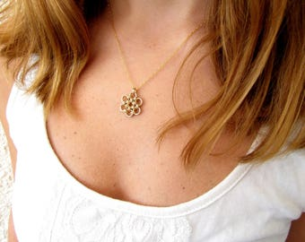Boho necklace, Cute necklace, Cute gold necklace, Silver necklace, Dainty necklace, Gold filled necklace, Simple gold necklace