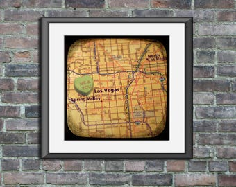 me & you las vegas candy heart map art ttv unframed photo print engagement wedding anniversary housewarming gift wall decor