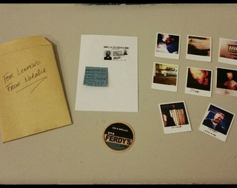"Props replica from ""MEMENTO"" movie in one sixth scale 1/6 miniature accessories hand made"