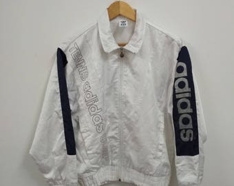 Rare Vintage adidas Tennis Sweater Windbreaker Size S