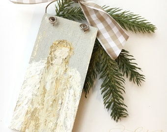 custom angel ornament
