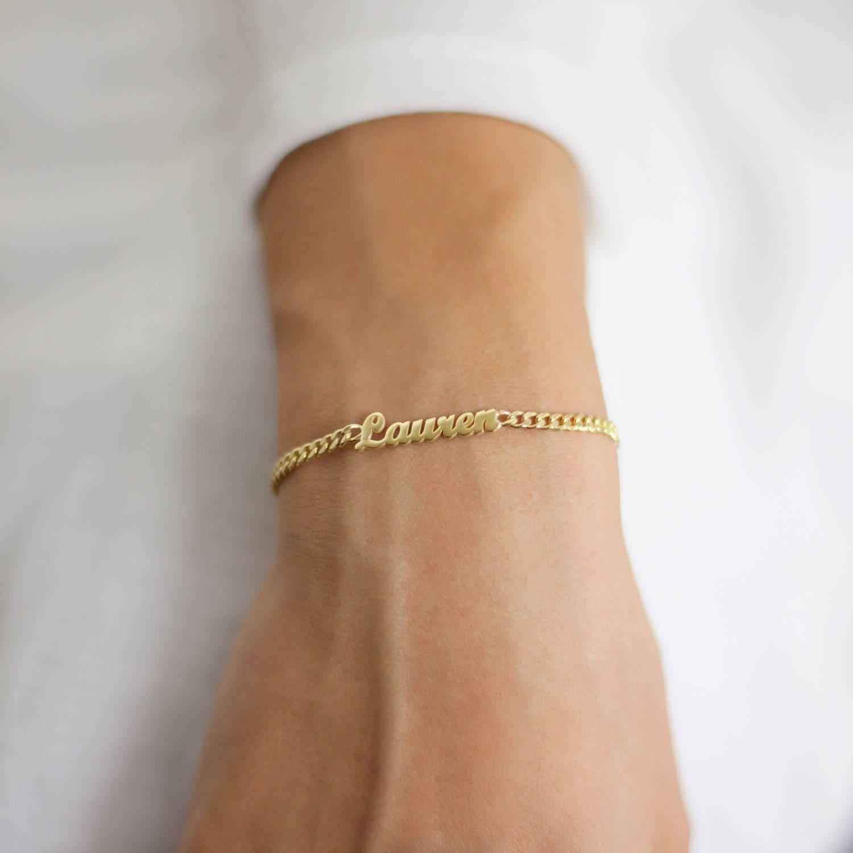 personalized name bracelet custom gold bracelet name bracelet
