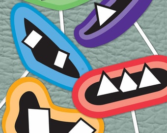 Monster Party Smile Printables