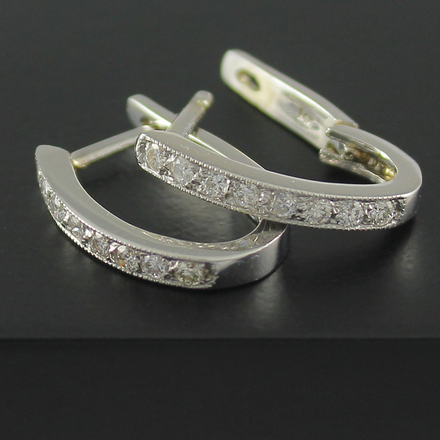 h g il earrings hoop white photo diamond gallery i fullxfull listing gold ghi