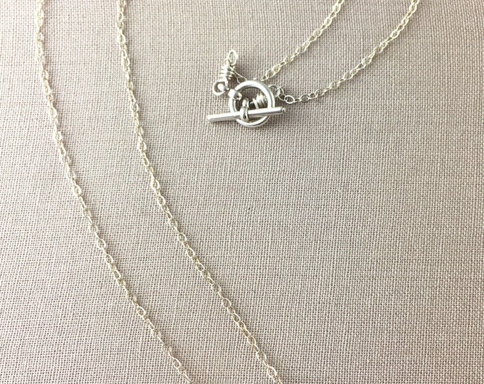 Raw Amethyst Necklace // raw crystal necklace, raw gemstone necklace, boho necklace, bohemian jewelry, jewelry under 35, sterling silver