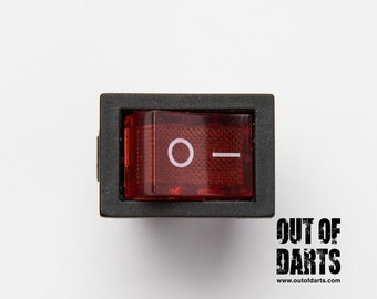 Red boat rocker switch (6A)
