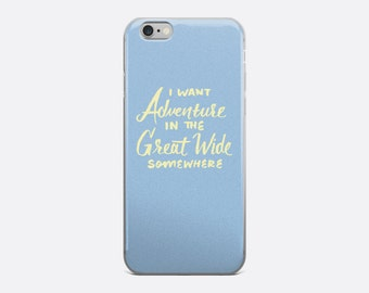 I Want Adventure iPhone Case