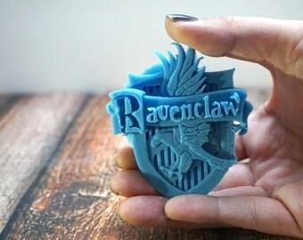 Ravenclaw Soap | Harry Potter Soap | Harry Potter Crest | Nerdy Soaps | Harry Potter Bathroom | Harry Potter Gifts