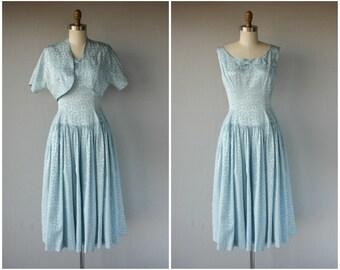 Vintage 1950s Party Dress | 50s Dress | 1950s Cocktail Dress | 40s Dress | Vintage 50s Dress