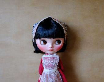 blythe vintage red lace dress set