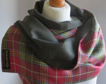 Buchanan Old Tartan. Tartan wrap. Clan tartan accessory. Winter scarf. Clan Buchanan wrap. Scottish tartan accessory.
