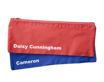 1 Personalised Pencil Case