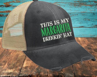 This Is My Margarita Drinkin' Hat