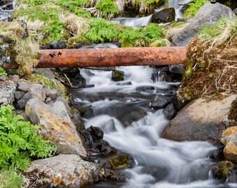 Rusted Beauty - Icelandic waterfall