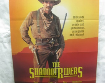 The Shadow Riders 1991 Movie Poster mp095