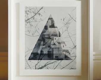 Blake - Archival Giclee Print by Eoin Ryan