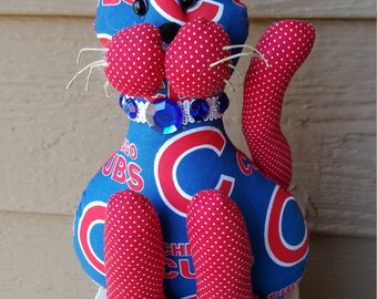 Chicago Cubs Baseball Cat