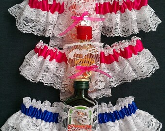 Plus size Flask garter