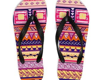Ankara flip flops | African Print Ankara slippers