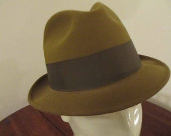 SALE Mad Men Mustard Fedora