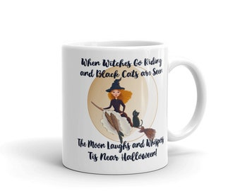 When Witches Go Riding Cheeky Witch® Halloween Mug