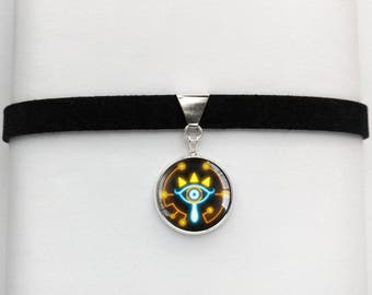 Zelda BOTW Sheikah Slate Eye Symbol Breath of the Wild Chokers