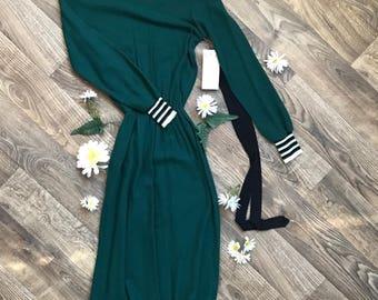 Vintage deadstock dress, Voguester Jr. dress, size medium dress,