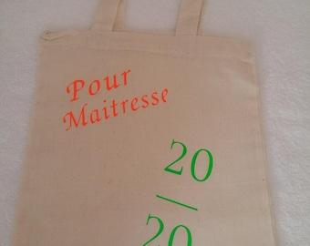 Mini tote-bag 20/20 for mistress