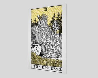 """12""""x18"""" - Modern Tarot Design - 3 The Empress"""