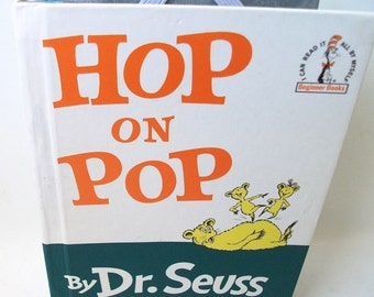 Dr. Seuss Hop On Pop Book IPad Mini Tablet Device Case Ereader Cover for Nook Kobo or Kindle