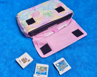 Pastel Dragon 3DS / 3DS XL / New 3DS Carrying Case - MADE to ORDER