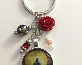 Beauty and the Beast Keychain ~ Belle Keychain ~ Moonlight Keychain ~ Tale as Old as Time - Keychain ~ Beauty and the Beast ~ Disney