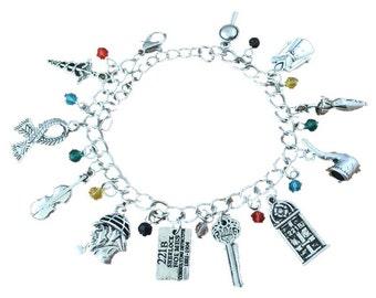 Sherlock inspired charm bracelet