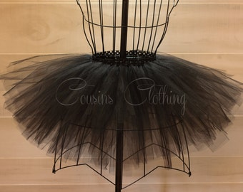 Running Tutu - Race Tutu - Adult Tutu - Black Tutu - Color Run Tutu - Marathon Tutu - 5K Tutu - Halloween Tutu - Fun Run Tutu