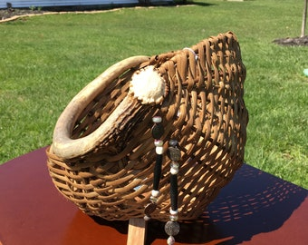 Antler Basket - Rustic