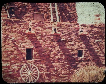 Grand Canyon Indian Adobe Building TTV Fine Art Photography Print