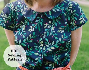 Glea Dress (PDF Sewing Pattern) Women's Apparel