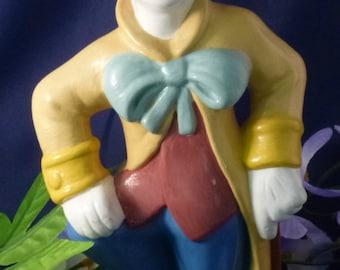 Proud Clown Vintage Figurine, 1980s
