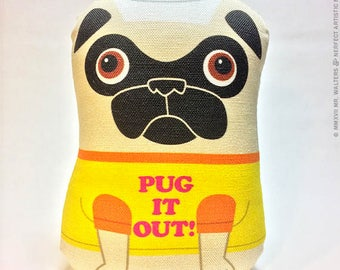 Pug It Out - Small Pug-Guise Plush