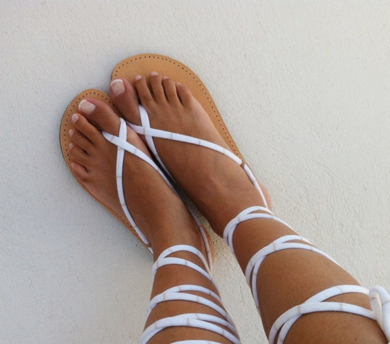 sandals sandals gladiator lace leather up handmade sandals pzzqd1