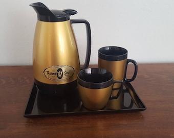 Thermo Serv Coffee Set - Set of 4