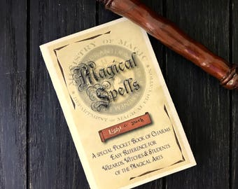 Pocket Spell Book - Every Witch and Wizard needs a pocket spell book!