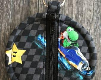 Mario round circle pouch