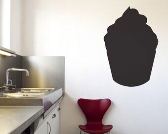 Cupcake Cutout Chalkboard Wall Decal - #51808