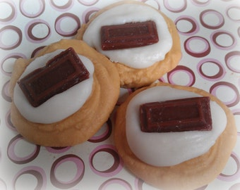 Smores Cookie Tarts, Soy Wax Melts, Bakery Scents, Room Fragrance, Candle Warmer, Wax, Pure Soy Wax, Farmhouse Decor, Dessert Tarts