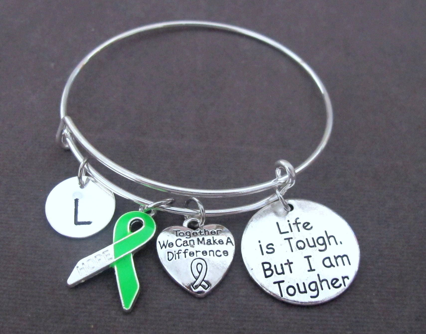 green hodgkin bracelet lime health mysticmoon buy awareness non mental products lymphoma charity