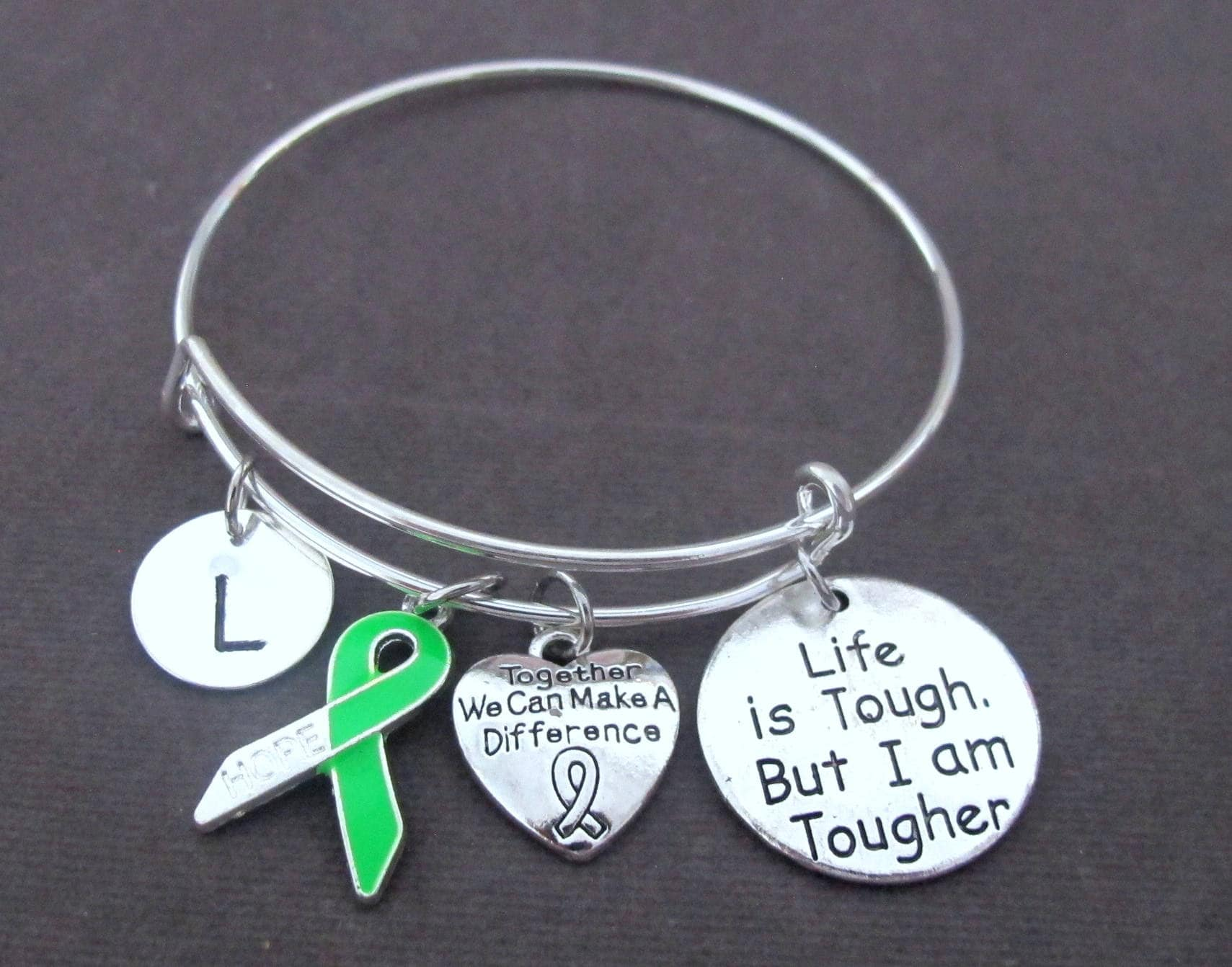 mental lyme awareness bracelets on health cheap guides shopping deals lymphoma disease lime muscular bracelet line at support green quotations get find dystrophy